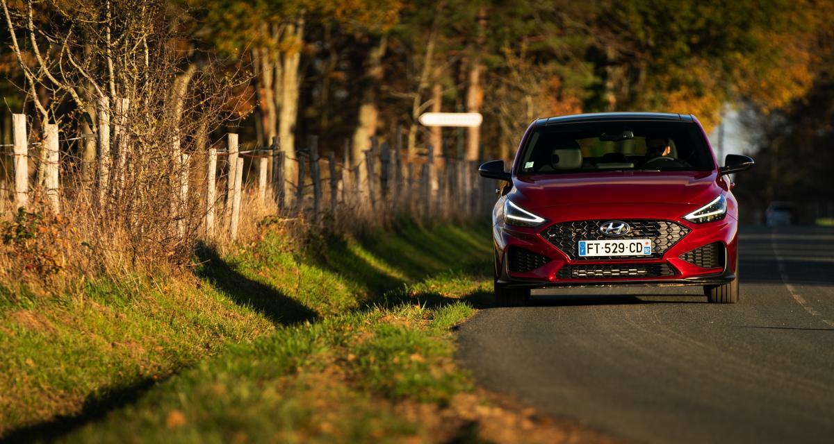 Hyundai i30 restylée : les photos officielles de la compacte sur nos routes