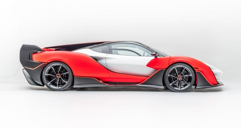McLaren Sabre : l'édition limitée de tous les excès réservée aux USA