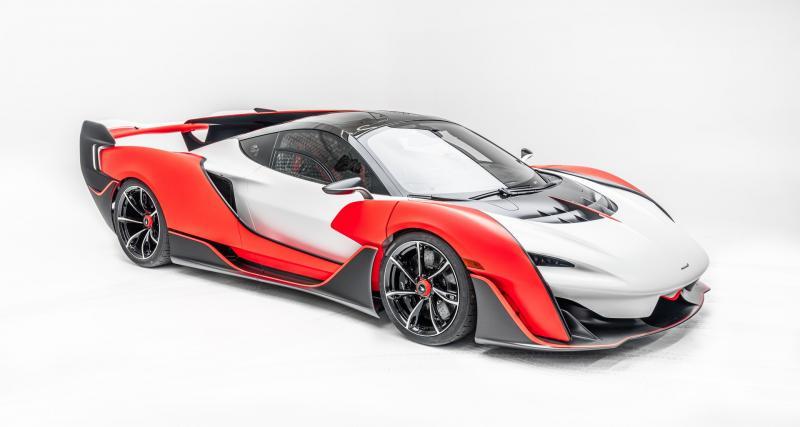 La plus rapide des McLaren biplace