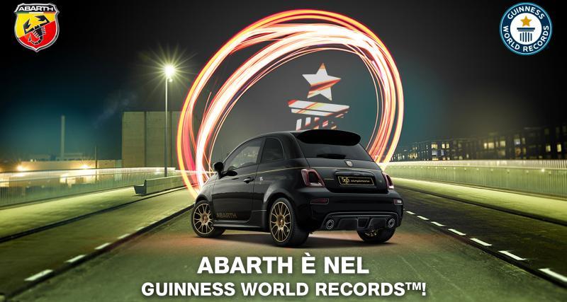 Abarth a établi un nouveau record du monde totalement inattendu