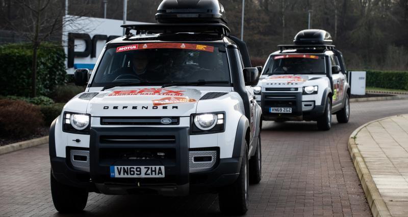 Dakar 2021 : Sébastien Loeb et Nani Roma recevront l'assistance de deux Land Rover Defender