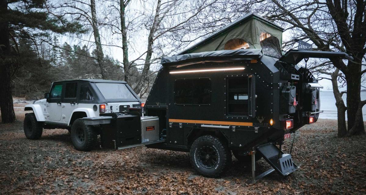 La mini caravane de John Rambo a un nom : Crawler TRC 428 Nordic