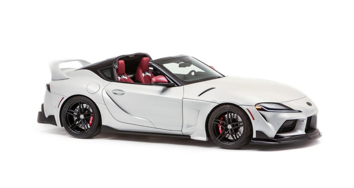 Toyota GR Supra Sport Top : une sportive à toit amovible inspirée par la Supra MkIV