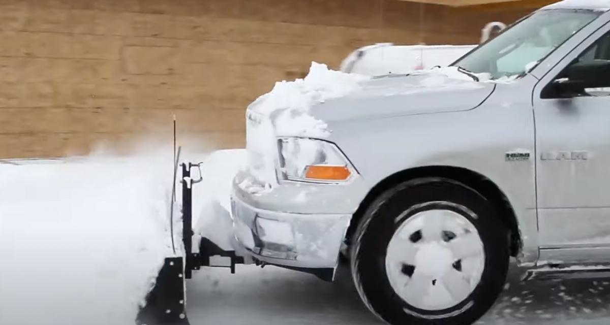 La solution parfaite pour déblayer la neige devant chez soi (vidéo)