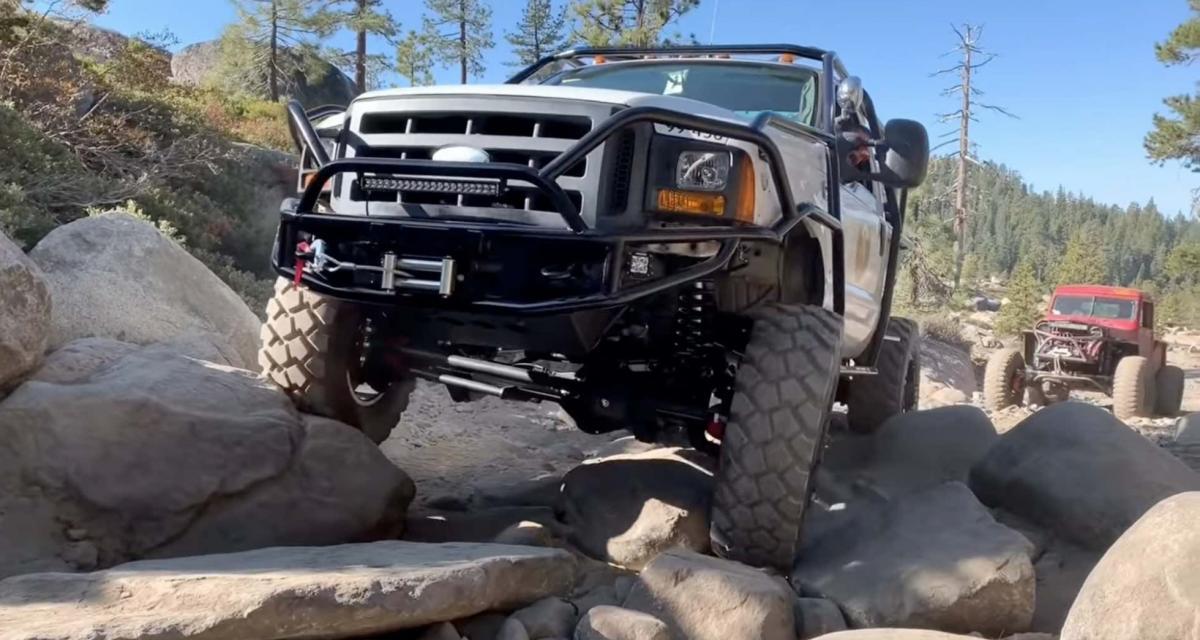 Ford F-550 Medium Duty : le pick-up de travail taillé pour le Rubicon Trail