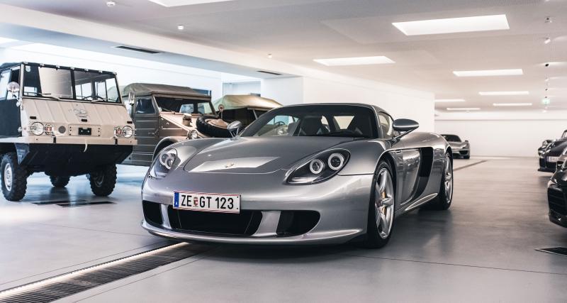 Une Porsche Carrera GT démontée 78 fois depuis 2004