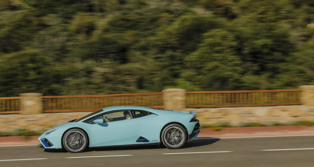Porsche Cayman contre Lambo Huracan : voitures et permis confisqués après une course sur une départementale