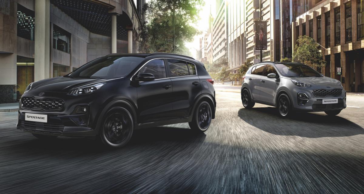 Kia Sportage JBL Black Edition : look badass et sono de qualité pour le SUV