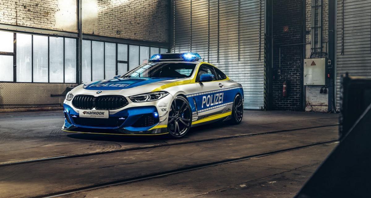 """BMW M850i """"Polizei"""" par AC Schnitzer : une bombe de 620 ch aux couleurs de la police allemande"""