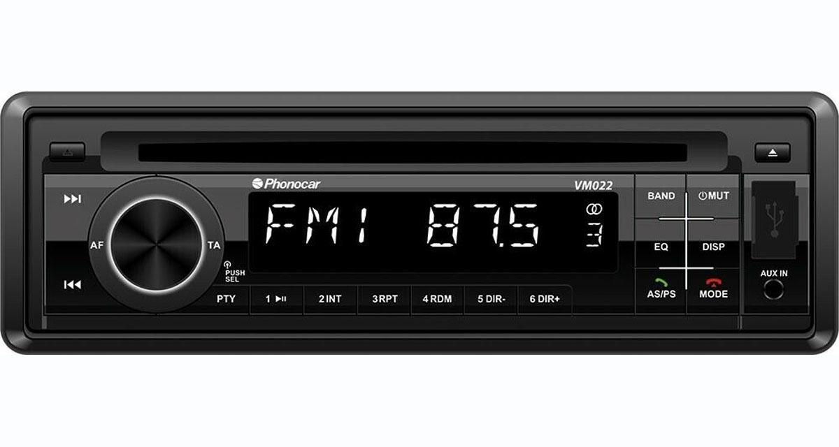 Un autoradio CD Bluetooth DAB à prix canon chez Phonocar