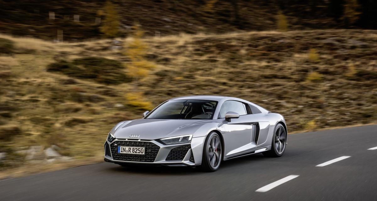 Suivez la fuite complètement folle de ce voleur d'Audi R8 ! (vidéo)
