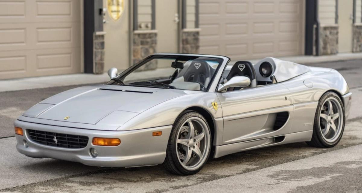 La Ferrari 355 Spider de Shaquille O'Neal est à vendre aux enchères