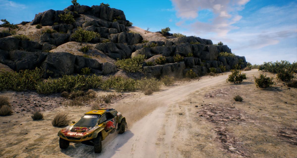 Le Dakar de retour en jeu vidéo pour 2021 !