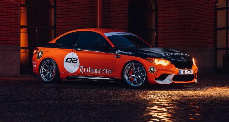 BMW M2 CSL Turbomeister Edition : un coupé bavarois bien inspiré de 520 ch