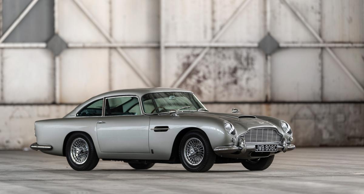 Aston Martin DB5 Goldfinger Continuation : le plus beau Noël des cinq premiers clients