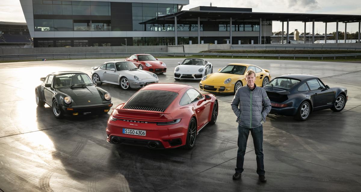 Porsche 911 Turbo : la légende des rallyes Walter Röhrl passe en revue les sept générations