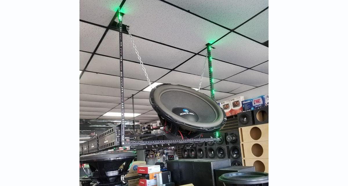 Nemesis Audio dévoile un subwoofer de plus de 80 cm de diamètre