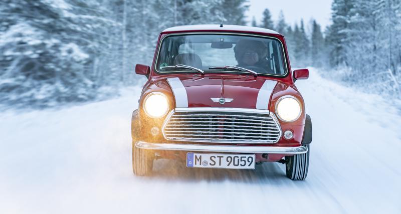 Le beau cadeau de Mini au pilote Rauno Aaltonen