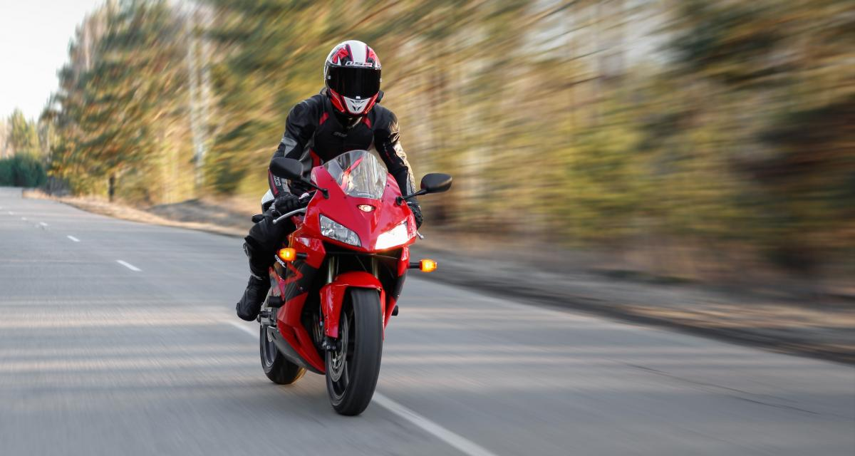 Retour sur l'excès de vitesse à moto à 234 km/h !