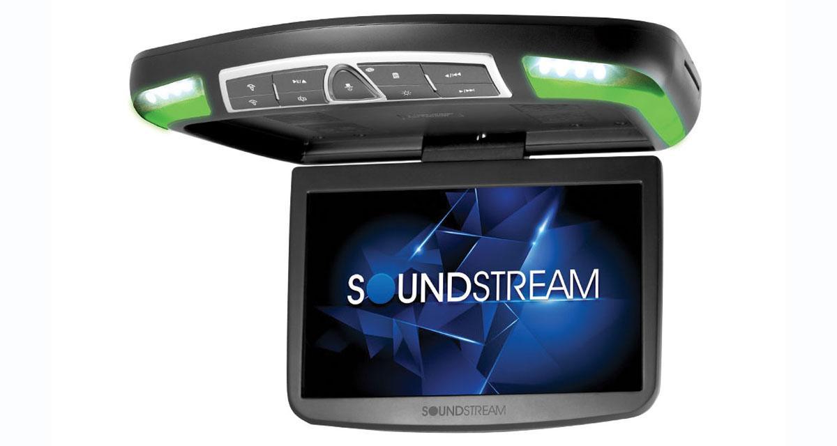 Soundstream commercialise un écran plafonnier avec connexion Smartphone