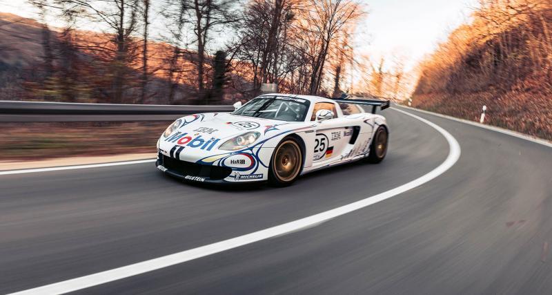 Porsche Carrera GT-R : un modèle unique optimisé pour les courses d'endurance