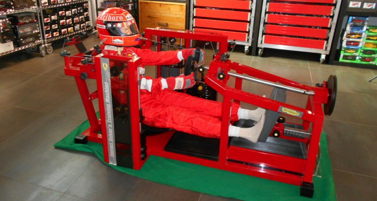 eBay : 150.000 € pour la machine de muscu Ferrari de Michael Schumacher