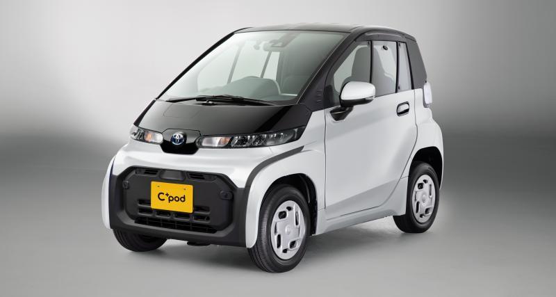 Toyota C+pod : la cousine japonaise de la Citroën AMI