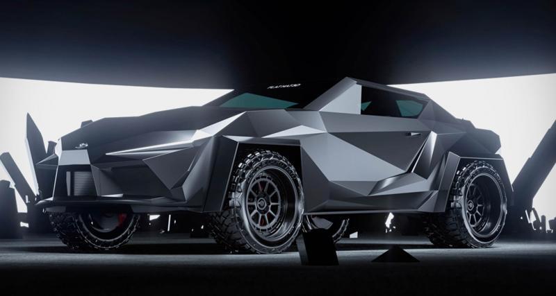 Cyber Supra Concept : des angles à gogo pour ce coupé Toyota largement modifié
