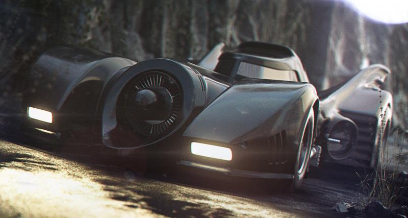 PHOTOS. La Batmobile du Batman de Tim Burton remise au goût du jour