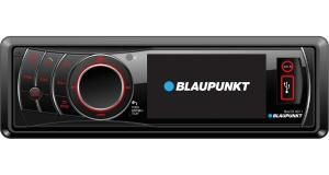 Un autoradio 1 DIN avec écran vidéo en façade chez Blaupunkt