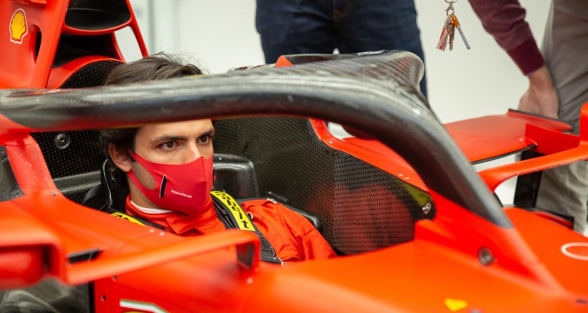 VIDEO. De la dernière à la première place, Carlos Sainz fait la démonstration de son talent au volant d'un kart