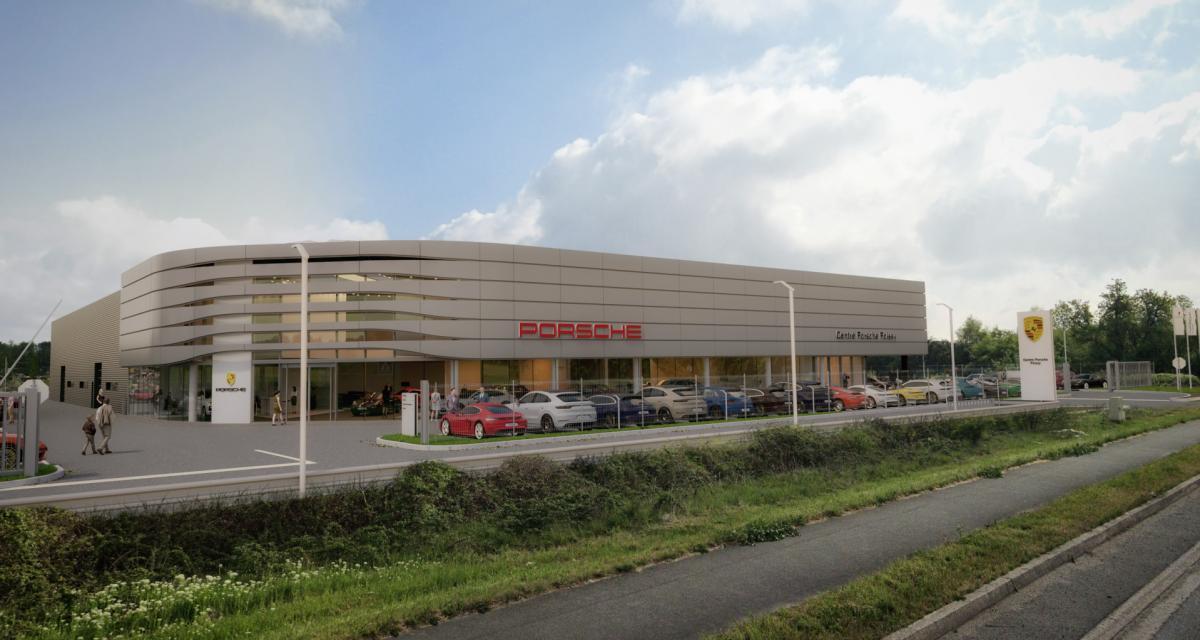Porsche s'installe en face du camp d'entraînement du PSG, directement du producteur aux footballeurs