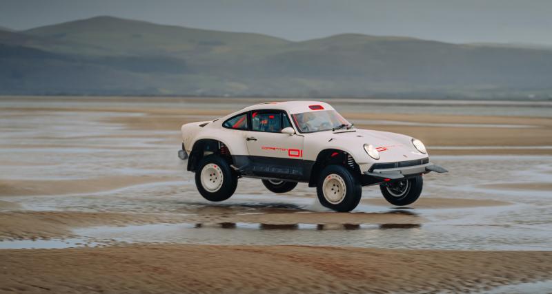 Singer frappe encore très fort avec son véhicule de compétition inspiré par la Porsche 911 Safari