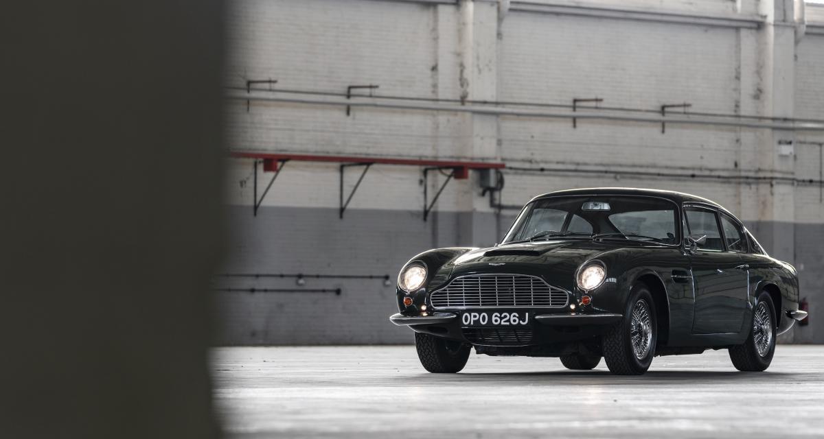 Huit mois de prison pour le voleur de l'Aston Martin DB6 de James Bond