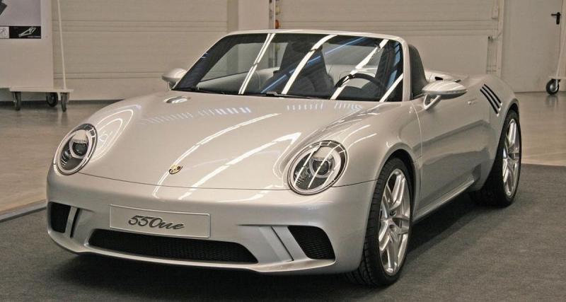 Porsche 550 One : voici ce à quoi aurait pu ressembler la 550 Spyder moderne
