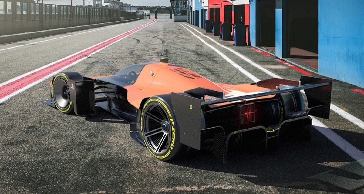 PHOTOS - La F1 du futur : linéaire, électrique, compacte et refermée, voilà ce qu'imagine ce concept
