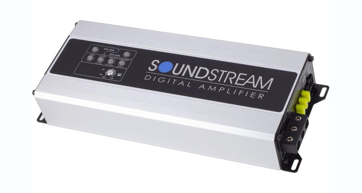 Soundstream commercialise un ampli 4 canaux, compact et puissant à un prix attractif