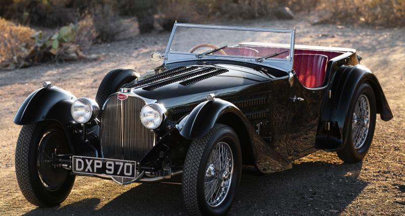 Bugatti Type 57SC Tourer : l'un des rares châssis carrossés par Corsica
