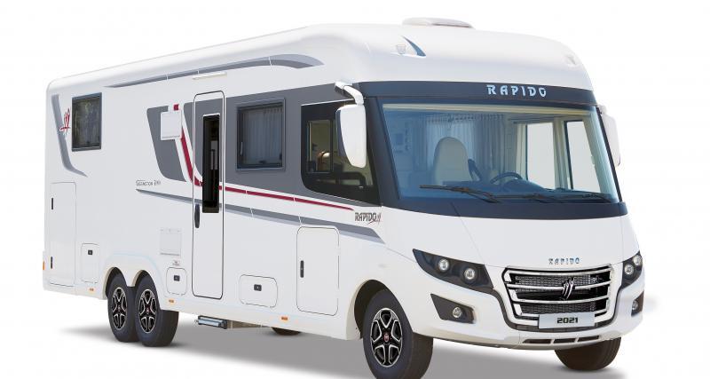 Le meilleur du savoir-faire Rapido dans un camping-car : le i1066
