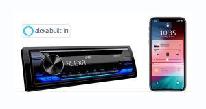JVC dévoile un nouvel autoradio laser avec commande vocale Alexa