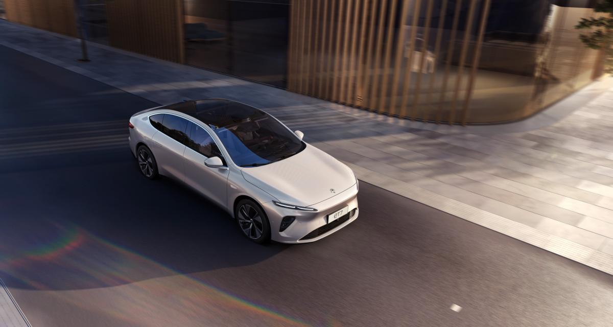 Nouvelle Nio ET7 : jusqu'à 1000 km d'autonomie pour l'élégante berline chinoise 100% électrique
