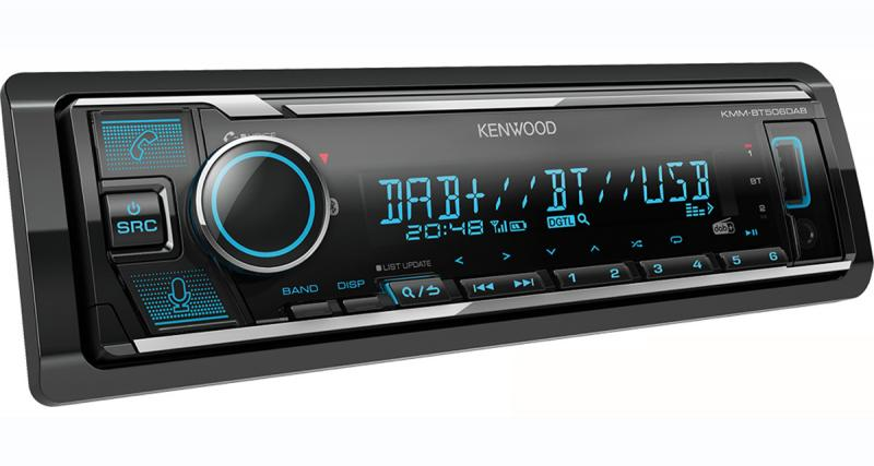 Un autoradio avec commande vocale Alexa Amazon chez Kenwood-Electronics