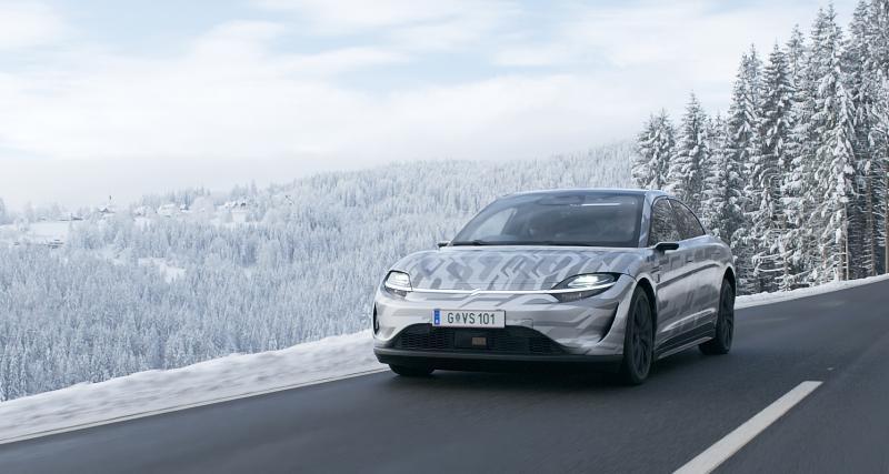 Vision-S : la voiture électrique de Sony déjà sur la route
