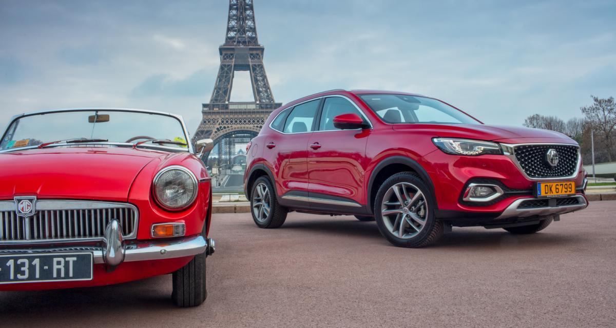 Nouveau MG EHS (2021) : le SUV hybride rechargeable à partir de 33.700€