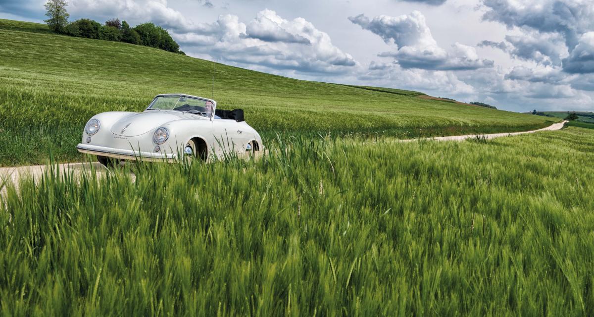Porsche 356 Pré-A 1500 Cabriolet by Reutter : le mystère de l'aluminium