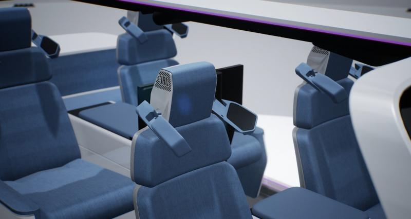 Harman dévoile un système d'appui-tête audio pour les constructeurs automobiles