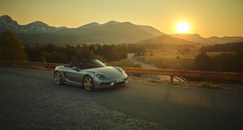 Le Porsche Boxster fête ses 25 ans avec une édition limitée digne de son quart de siècle