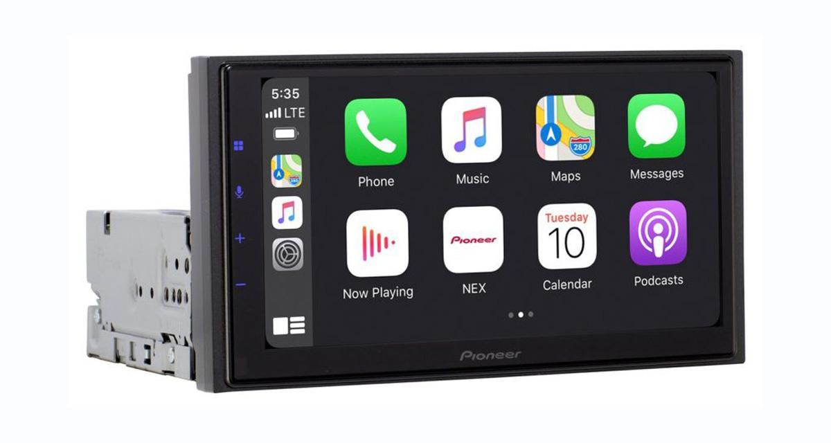 Pour le CES 2021, Pioneer dévoile une nouvelle station multimédia modulable avec CarPlay
