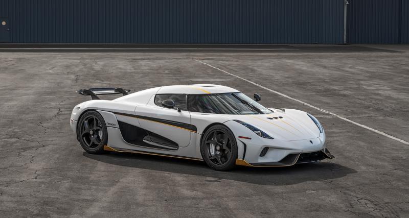 Koenigsegg Regera : la supercar de 1500 ch pour la première fois aux enchères
