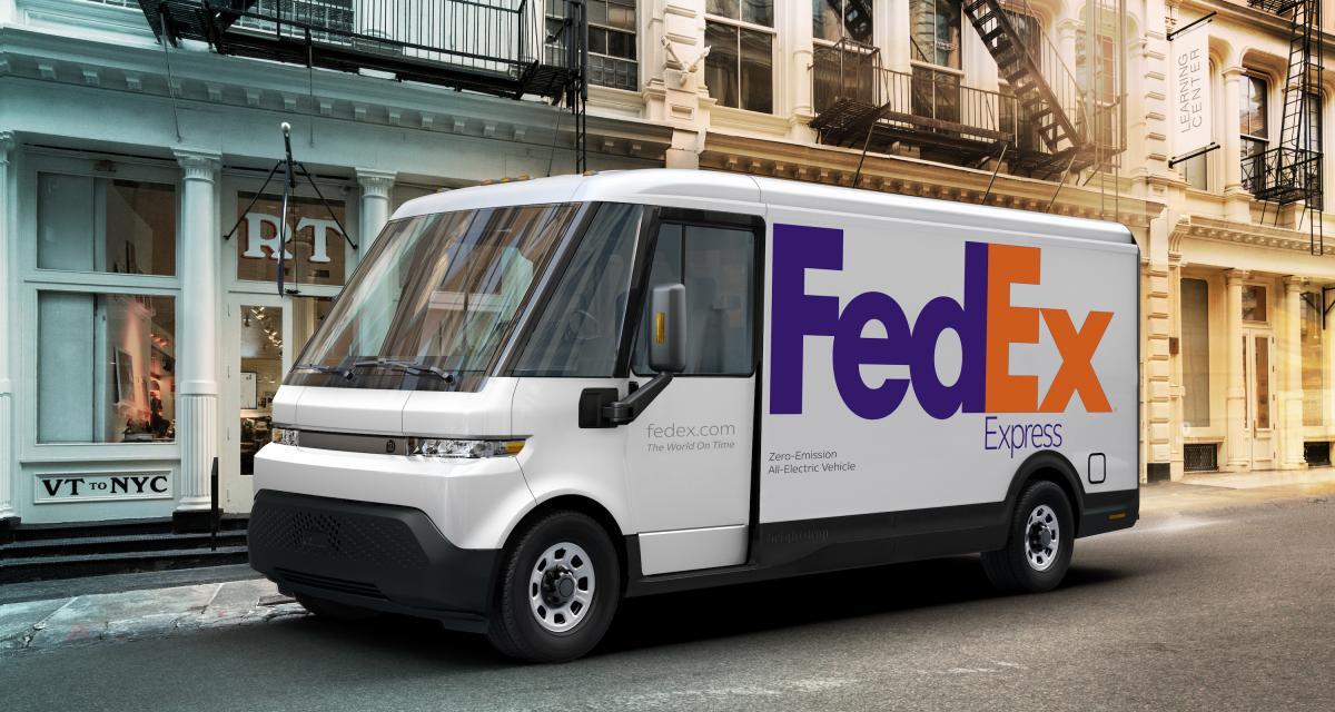 BrightDrop : la livraison 100% électrique vue par General Motors